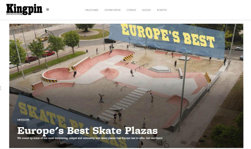 Europe's Best Skate Plazas
