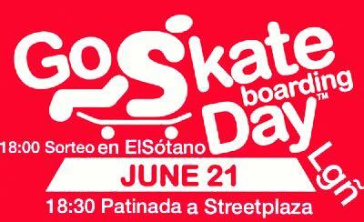 GO SKATEBOARDING DAY EN LOGROÑO STREETPLAZA POR ELSOTANOSHOP
