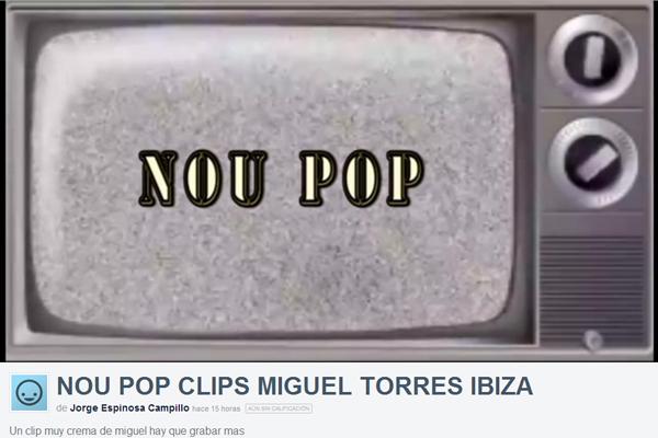 MIGUEL TORRES EN IBIZA SKATEPLAZA NOU POP CLIPS