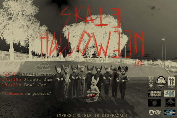 SKATE HALLOWEEN 2012 EN PLAZA DE ARMAS