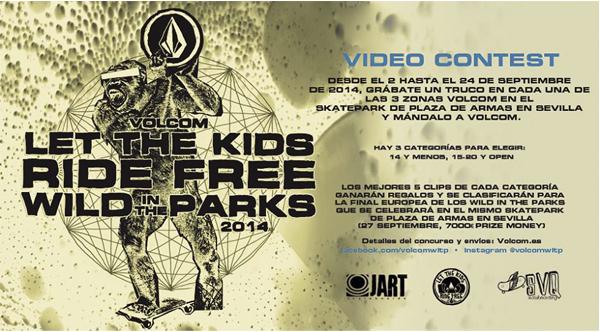 VOLCOM WILD IN THE PARKS EN EL SKATEPAK DE PLAZA DE ARMAS